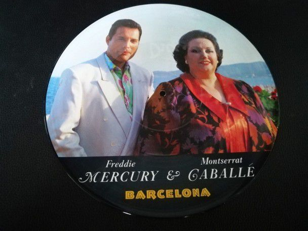 "12"" Vinyl maxi Freddie Mercury..."