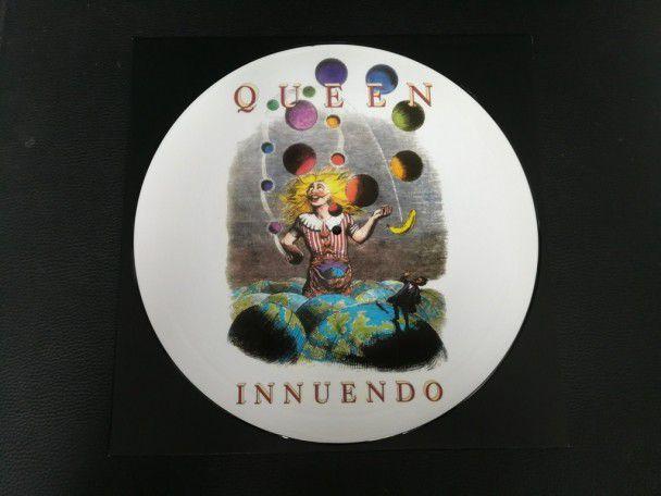 """12"""" Vinyl album Queen Innuendo Clown..."""