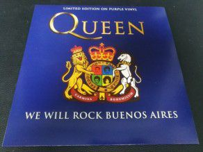 "12"" Vinyl album Queen We..."