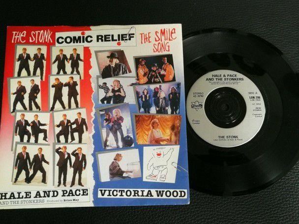 """7"""" Vinyl single Comic relief The..."""