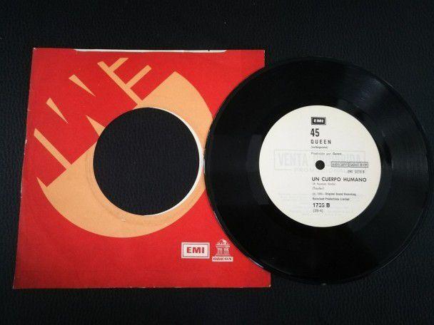 "7"" Vinyl single Queen Play the game..."