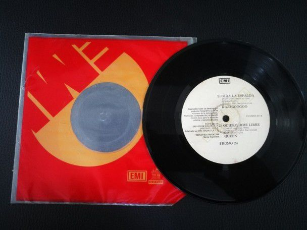 "7"" Vinyl single Queen I want to break..."