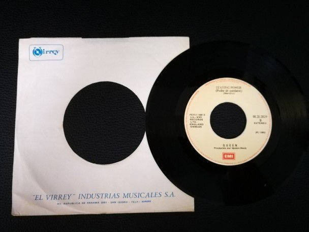 "7"" Vinyl single Queen Back Chat..."