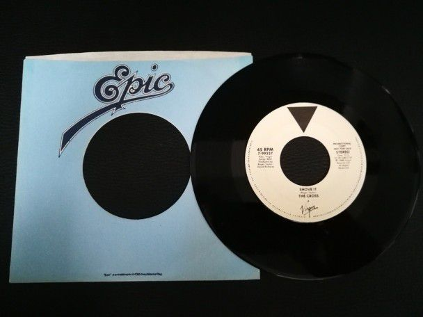 "7"" Vinyl single The Cross Shove It..."