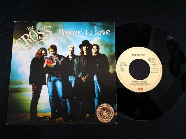 "7"" Vinyl single The Cross Power to..."