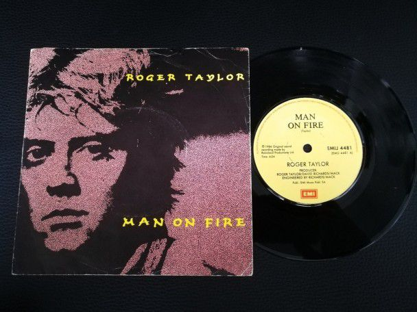 "7"" Vinyl single Roger Taylor Man on..."