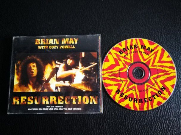 Cd Single Brian May Resurrection (UK)...