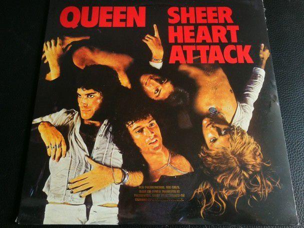 """12"""" Vinyl album Queen Sheer heart..."""