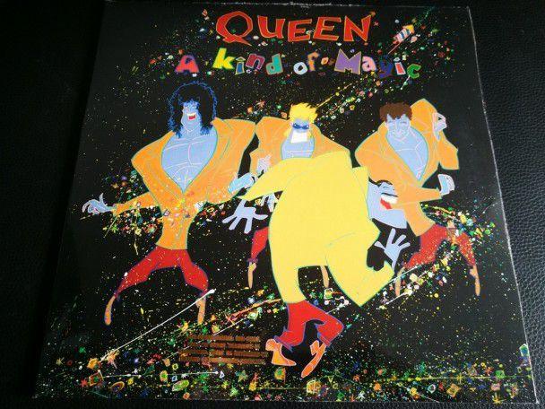 "12"" Vinyl album Queen A kind of magic..."