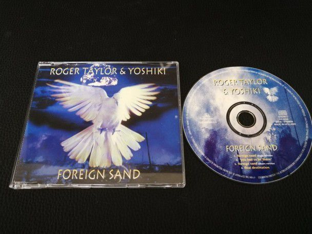 Cd single Roger Taylor Foreign sand...