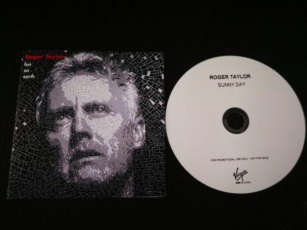Cd single Roger Taylor Sunny Day (UK)...