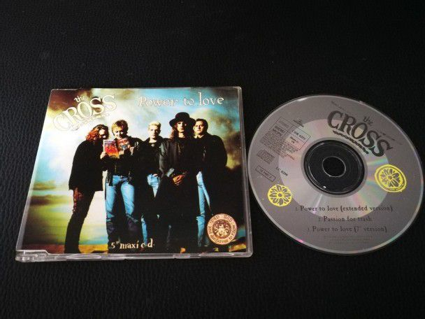 Cd single The Cross Power to love...