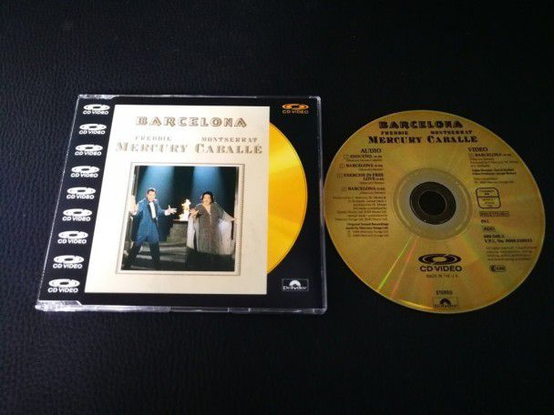 Cd Video Single Freddie Mercury...