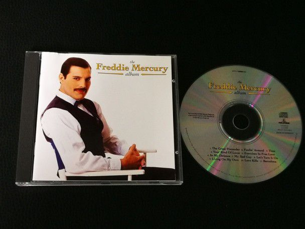 Cd Album Freddie Mercury The album...