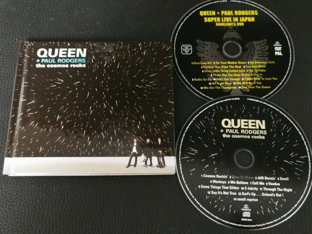 Cd Album Queen and Paul Rodgers The...