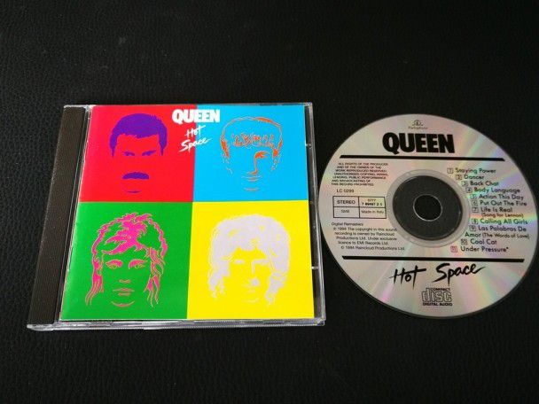 Cd Album Queen Hot space (Italy) 1994