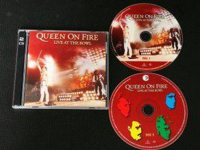 Cd Album Queen On Fire...