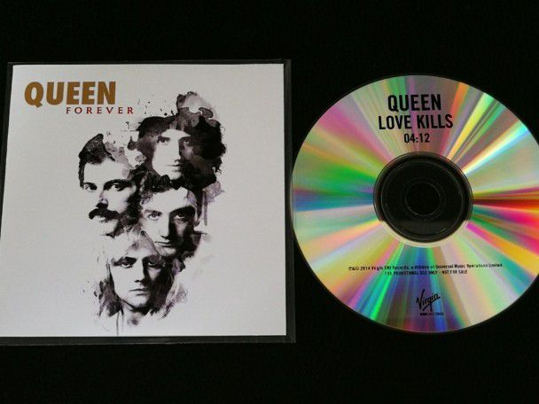Cd Single Queen Love kills (UK) Promo...