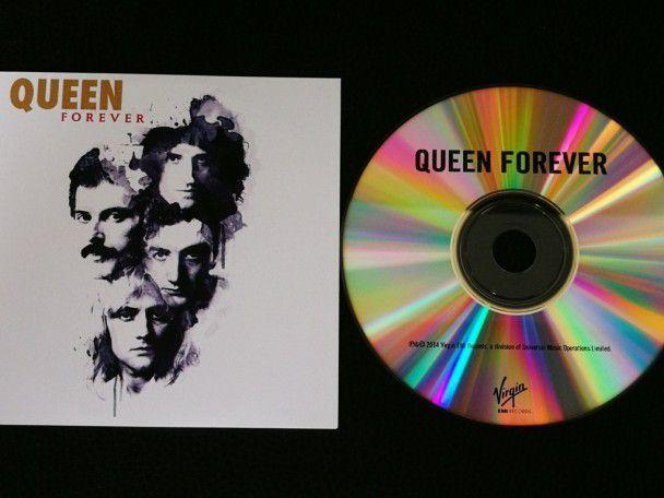 Cd single Queen Forever (UK) Promo