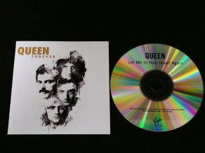 Cd Single Queen Let me in...