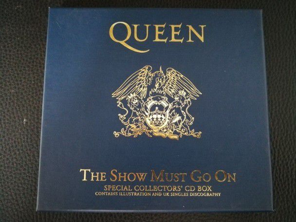 Cd Single Queen The show must go on...