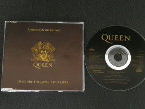 Cd Single Queen Bohemian...