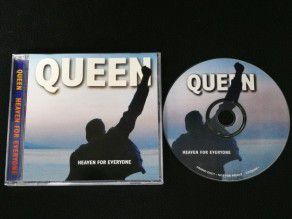 Cd Single Queen Heaven for...