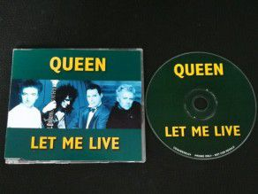 Cd Single Queen Let me live...
