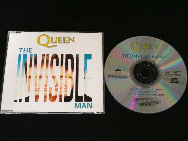 Cd Single Queen The invisible man...