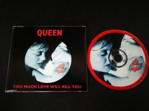 Cd Single Queen Too much...