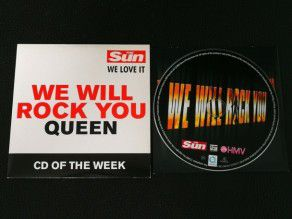Cd Single Queen We will...