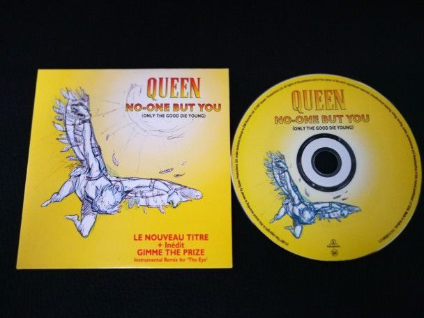 Cd Single Queen no one but you...
