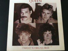 """12"""" Vinyl maxi Queen I want..."""