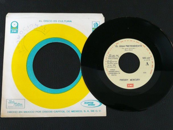 "7"" Vinyl single Freddie Mercury The..."