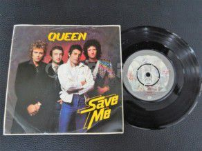 "7"" Vinyl single Queen Save me (UK)"