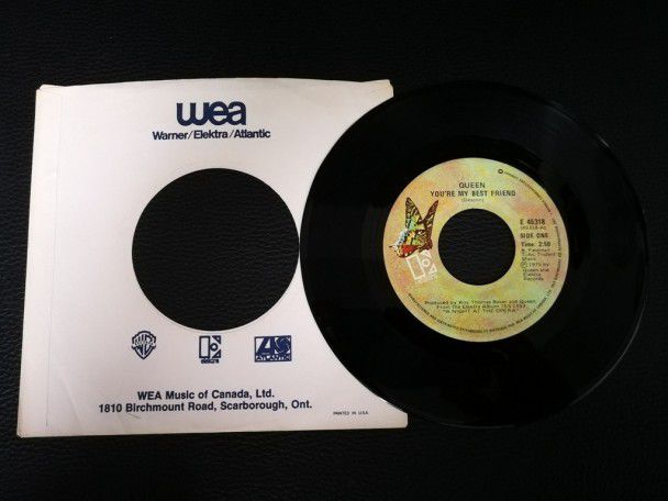 "7"" Vinyl single Queen You're my best..."