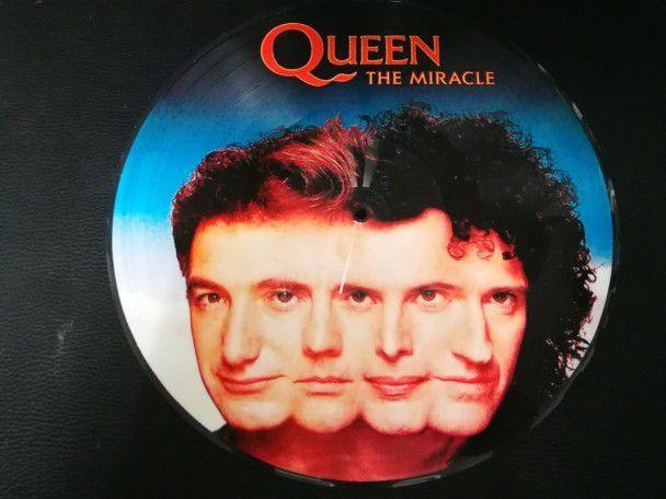 """12"""" Vinyl album Queen The miracle..."""