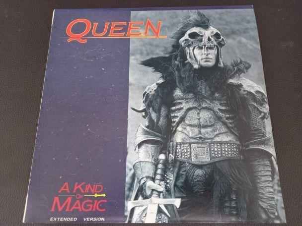 """12"""" Vinyl maxi Queen A kind of magic..."""