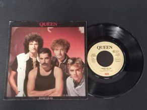 "7"" Vinyl single Queen Radio..."
