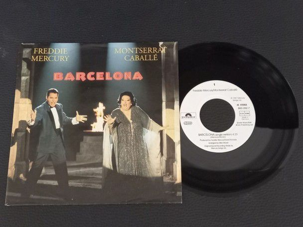 """7"""" Vinyl single Freddie Mercury..."""