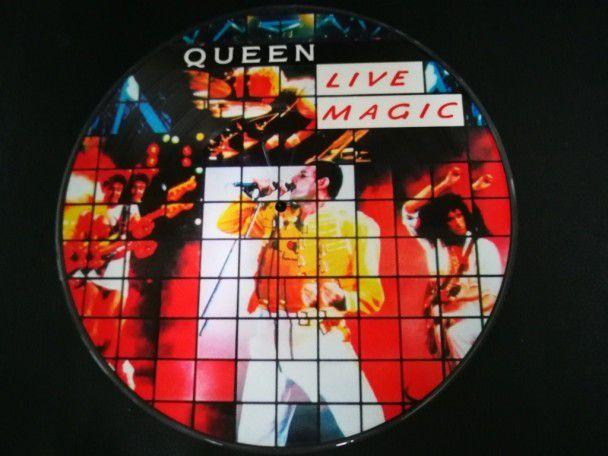 """12"""" Vinyl album Queen Live magic..."""