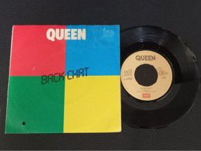"""7"""" Vinyl single Queen Back..."""