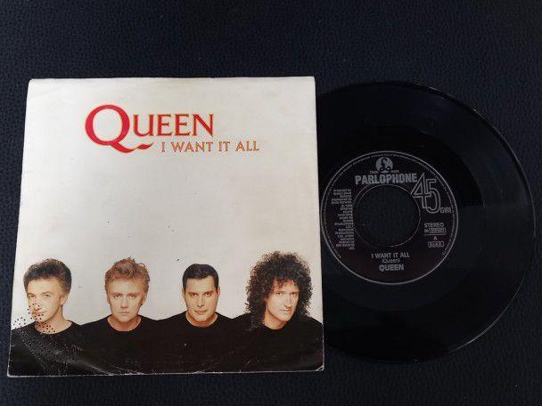 "7"" Vinyl single Queen I Want it All..."