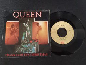 "7"" Vinyl single Queen Thank..."