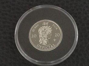 Coin Brian May 2020 Silver...