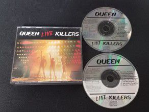 Cd Album Queen Live Killers...