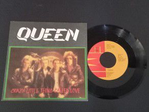 """7"""" Vinyl single Queen Crazy..."""