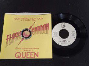 """7"""" Vinyl single Queen Flash..."""
