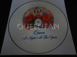 "12"" Vinyl album Queen A night at the opera (UK) Picture Disc EMTC103P"