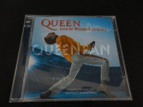 Cd Album Queen Live at Wembley (Holland) 1992